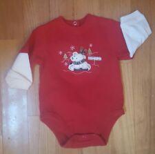 Boy Size 3-6 Months Sonoma Holiday Shirt