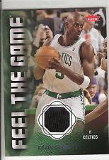 2008-09 FLEER FEEL THE GAME GAME USED JERSEY KEVIN GARNETT #FG-KG!