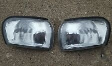 Subaru Impreza GC8 JDM STI WRX OEM Clear Fluted Corner Lights 1993-2001