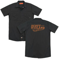 Scott Weiland & Wildabouts LOGO Licensed Adult Dickies Work Shirt All Sizes