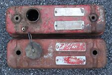 MG / MGB / Valve Covers / Red