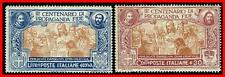 ITALY 1923 PROPAGATION of FATH  SC#144, 146 MLH minor THINS CV$1050.00  E16