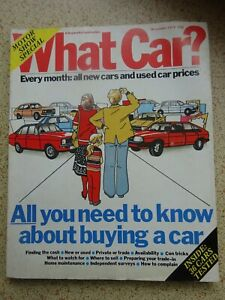WHAT CAR? -  Magazine - November 1978 - SPECIAL 'MOTOR SHOW' ISSUE.