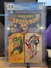 Amazing Spider-Man 37 CGC 7.5 White Pages//First Appearance of Norman Osborn & T