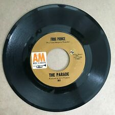 The Parade – Frog Prince b/w Hallelujah Rocket - A&M Records, Vg (1967)