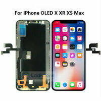Pour iPhone X XR XS XS Max OLED LCD Display Touch Screen Écran vitre tactile ARF