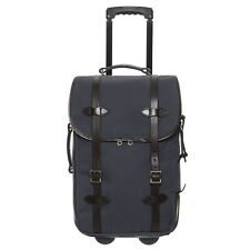 """NWT  FILSON  NAVY BLUE  22"""" ROLLING  CARRY-ON LUGGAGE  $625"""