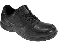 New DUNHAM CASUAL LACE SHOES 8000BK, BLACK, MEN US SZ 9 B