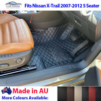 AU Made 3D Tailored Floor Mats for Nissan X-Trail Xtrail 5 Seater 2007-2012