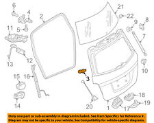 Mercedes MERCEDES-BENZ OEM 10-15 GLK350 Liftgate Tailgate-Stop 2047430129