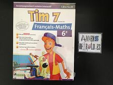 Logiciel Tim 7 version 2.0 6ème Accompagnement scolaire Francais-Maths 1997