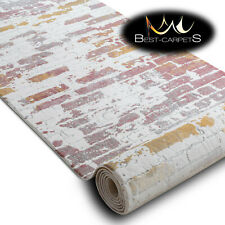 Modern Amazing very thick Runner Rugs 'DIZAYN' pink Width 80,120cm extra long