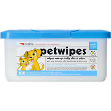 Petkin Pet Wipes for Dogs & Cat 100pk Wipes Away Daily Dirt & Odor - Fresh Scent