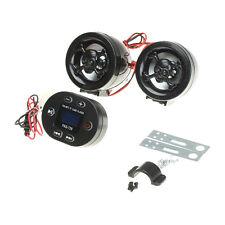 Motorcycle USB Audio FM TF MP3 Stereo Speaker Amplifier Sound System Skull