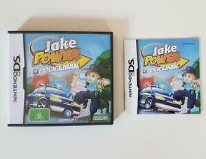 JAKE POWER POLICEMAN [Nintendo DS] 2DS 3DS Australian (G) Excellent Condition