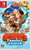 UsedGame Nintendo Switch Donkey Kong Tropical Freeze