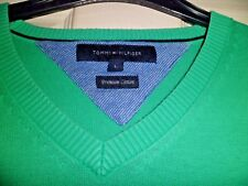 Tommy Hilfiger 100% Cotton Green Large Worn Once