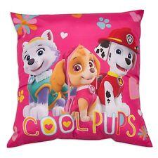Paw Patrol Forever Cushion 40cm X 40cm Pink Skye Childrens