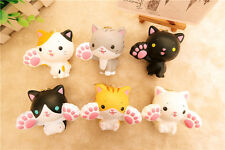 Random 1PC Really Cute Claw Cat Kitty Squishy Phone Strap HOT NEW with Tag Charm