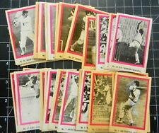 1974 SUNICRUST CRICKET GAME CARD 38/40 cards