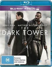 The Dark Tower (Blu-ray, 2017) BRAND NEW AND SEALED AUSTRALIAN