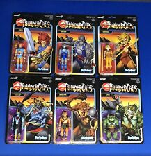 Super7 Thundercats Wave 1 ReAction Action Figure Set Of 6 2020 In Hand!!
