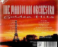 cd The Mantovani Orcghestra - Golden Hits - easy listening instrumentals