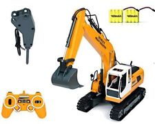 DoubleE RC Excavator Tractor Toy Construction Vehicles 17 Channel Truck