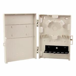 New Unopen Box Molex Wall Mount Box for Optical Fiber, 6-port SC style,Unloaded