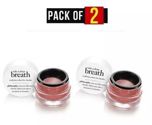 2X Philosophy Take a Deep Breath Cushion blush Markup Color shade 7.5 sealed