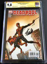 Deadpool Suicide Kings #4~CGC 9.8 SS~by STAN LEE~Amazing Fantasy 15 homage cover