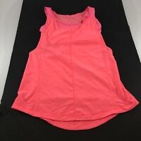 Lululemon Womens Athletic Tank Top Built in Bra Pink Racerback Size Small