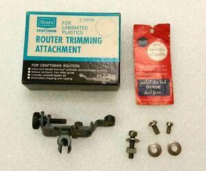 Sears Craftsman Router Trimming Attachment No. 925731 for Laminated Plastics