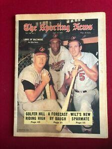 "1969, Brooks Robinson, ""Sporting News"" Magazine (No Label)  Vintage (Orioles)"