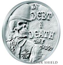 2017 Silver Shield Debt & Death BU Death of Dollar Series #2 W/COA IN STOCK