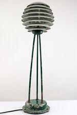 Steh Leuchte Lamellen Boden Lampe Vintage Dansk Design Floor Lamp  50er #3/3
