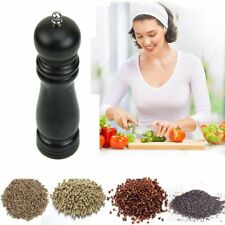 Wooden Kitchen Pepper Grinder Spice Sauce Muller Pepper Shaker Mills Salt Mill