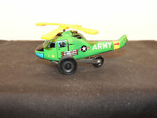 Toy Army Helicopter Made in Japan over 3 inches long (11308)