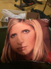 Buffy The Vampire Slayer 2 Sided Pillow Angel Excellent Sarah Michelle Geller