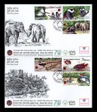 Sri lanka stamps Wasgamuwa national part 2019- Two First day covers (FDC)