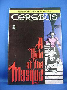 CEREBUS THE AARDVARK 16  VF NM or better1980