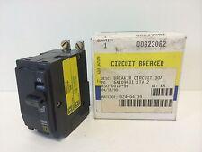 NOS! IN BOX SQUARE D 30A 2-POLE CIRCUIT BREAKER QOB230A2 120/240V