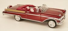 1957 Mercury Turnpike Cruiser Convertible Red '57 Ertl Collectibles 1/43 Scale