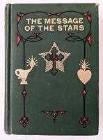 The Message Of The Stars By Heindel, Vtg Astrology Book 1963 Natal / Medical