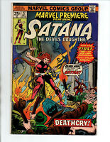 Marvel Premiere #27 - Satana The Devil's Daughter - Marvel - 1975 - VG