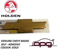 GENUINE HOLDEN - CHEV BOWTIE BADGE SUITING VE SS SSV REDLINE F OR R BADGE GOLD