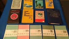 Vintage Stamp Collection Books 1965 - 1971 14 Books