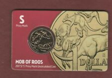 2017  Australia $1 Mob Of Roos 'Sydney' Privy Mark Uncirc. Coin