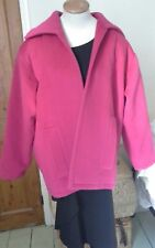 Yves Saint Laurent Rive Gauche Vintage  ladies pink wool jacket