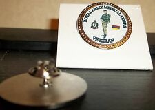 HM Armed Forces Royal Army Medical Corps Veteran lapel pin badge .